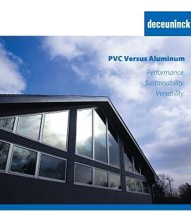 cover of pvc versus aluminum