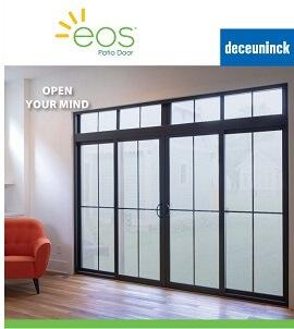 cover of eos patio door brochure