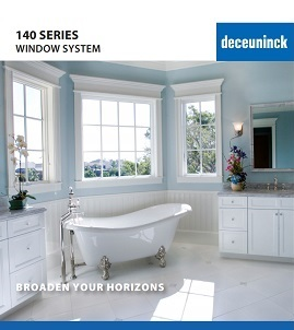 140 series window system brochure cover