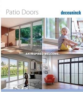 patio door brochure cover