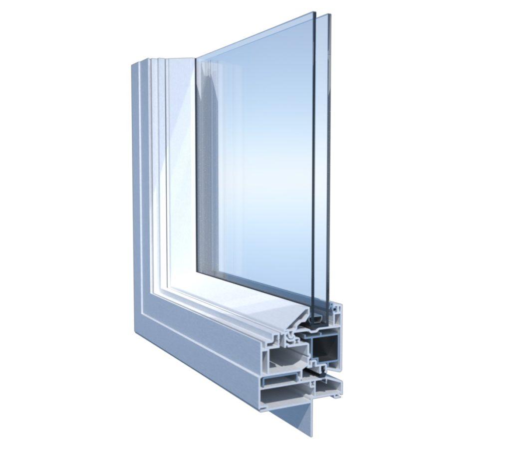 corner cut of window