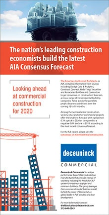 The nation's leading construction economists build the latest AIA Consensus Forecast