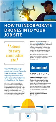 How to incorporate drones into your job site