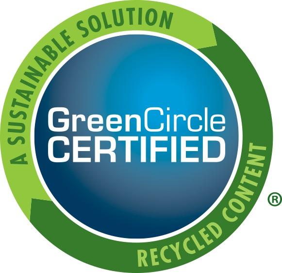 Green Circle Certified logo for pvc window profiles
