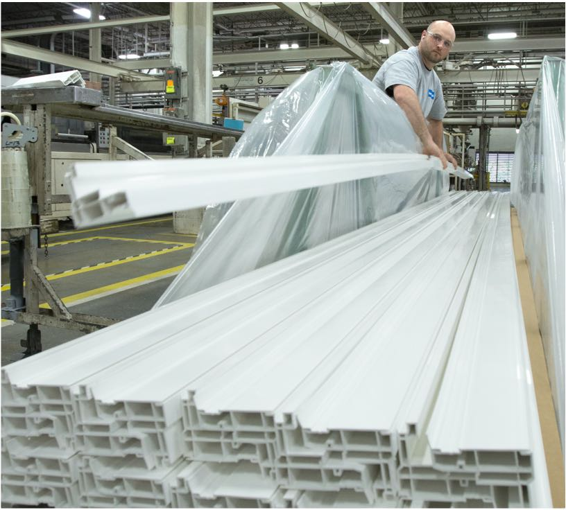 High performance window system component manufacturing plant